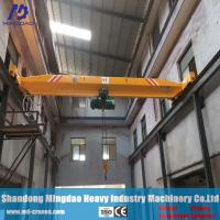 Quality China Crane Manufacturer Single Girder Overhead Traveling Crane 20ton for sale