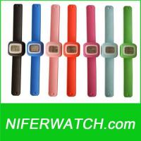 Quality Silicone slap watch for sale