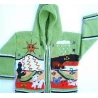 Quality Long sleeve kids boutique knitted sweater patterns,  knitting designs sweaters for sale