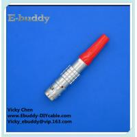 Buy cheap Lemo 4pin connector 2K shell cable connector with sleeves from wholesalers