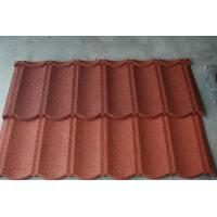 China Durable roofing materials Steel Roofing Tiles for construction , Aluminum Zinc Alloy Coated Steel on sale
