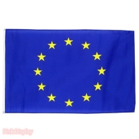 Quality Fade Resistant EU Rectangle Banner Flags For Outdoor for sale