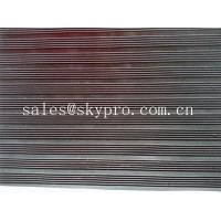 Buy Smooth / embossed Surface heavy duty Rubber Sheet Roll , 2.5mm-20mm Thickness at wholesale prices