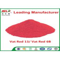 Quality Indigo Clothes Dye C I Vat Red 13 Vat Dyes Red 6B Not Dissolved In Water for sale