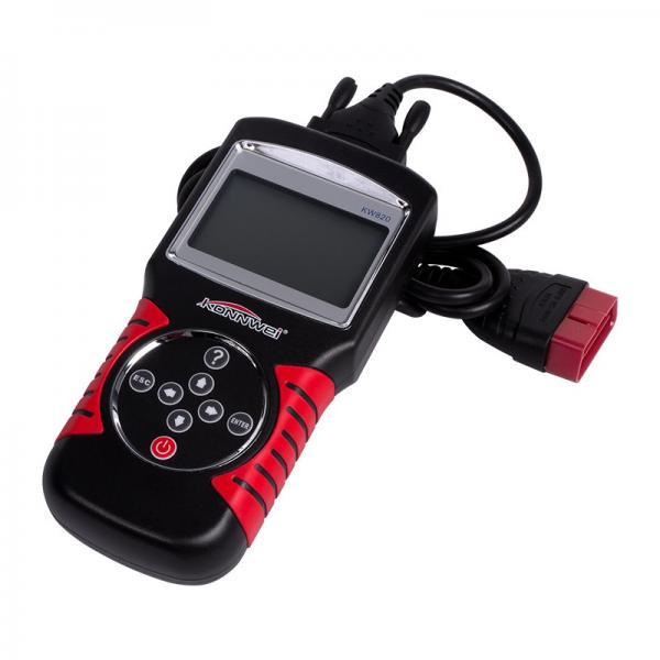 Buy Motorcycle Evap Leak Detector Smoke Machine KONNWEI KW820 Obd Ii Scanner Tpms Obd at wholesale prices