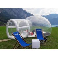 Quality Outdoor Single Tunnel Inflatable Bubble Tent Camping Family Stargazing For Rent for sale