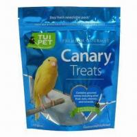 Quality Resealable Pack, Suitable for Dry Pet Food, Made of PET or KPET, Matt, OPP, VMPET, AL, NY and PE for sale