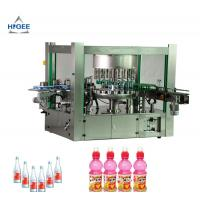 Quality Rotary Three Phase Hot Melt Glue Labeling Machine For PET Oval Round Bottles for sale