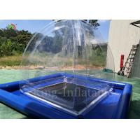 Quality Transparent Airtight Inflatable Camping Bubble Tent 2.4mL*2.4mW*2.5m H for sale