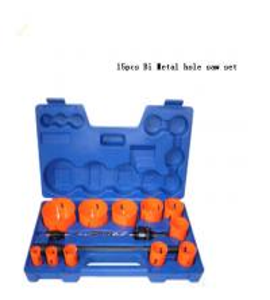 Quality JWT 15PCS HSS Bi Metal Hole Saw-professional manufacture for sale