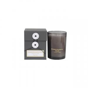 Quality Black Glass Jar Private Label Folding Box Luxury Soy Scented Candle for sale