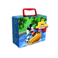 Quality Disney Mickey Mouse Puzzle Tin with Handle for sale