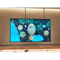 Quality Indoor Ultra Narrow Bezel Video Wall , Digital Signage Video Wall For CCTV Center for sale