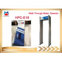 Quality Hot Sale 18 Zones Walk Through Metal Detector for Security Inspection for sale