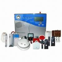 Quality Intelligent Wireless GSM Alarm System for Home Security System, with LCD Display for sale
