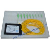 Low Insertion Loss Plc Fiber Optic Splitter / Fttx Ftth Splitter Optical Fiber