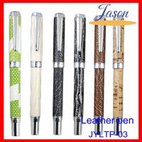 Best Twist leather pen for business gifts wholesale