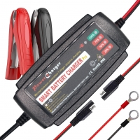 Quality 12V 5A Automatic AGM  WET Lead Acid Battery Charger deeep cycle for sale