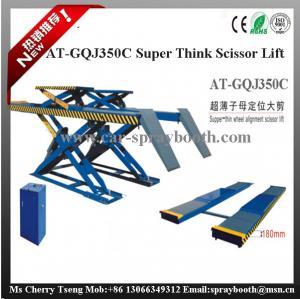 AT-GQJ350C Super Thin Wheel Alignment Scissor Lift,scissor used wheel aligner car lift