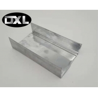 Quality Construction Use Metal Stud Drywall Flexible Partition Wall Heaven And Earth Keel Light Steel Keel for sale