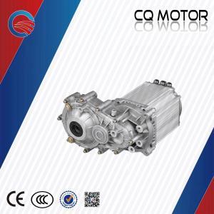 front wheel drive one speed 7500watt 60v differential PMSM motor fan cooling