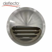Quality Wiredrawing Round Metal Air Vents Air Outlet Venting Hood Air Outlet 4 Inch 100mm for sale