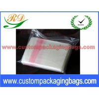 Quality Red and Natural Custom Plastic Laundry Bags for Hotel / Hospital 25 Micron for sale