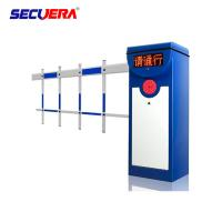 Quality Automatic Articulated DC Parking Boom Barrier Gate With Long Range Rfid Reader for sale