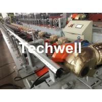 Quality 40mm, 60mm, 70mm, 80mm Octagon / Octagonal Pipe Roll Forming Machine With Fly Saw Cutting for sale
