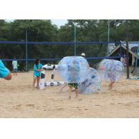 China Adult TPU Inflatable Bumper Ball , Outdoor Inflatable Toys Bubble Soccer Ball For Kids on sale