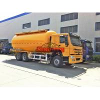 Quality 20 Cubic Meter HOWO 6X4 Bulk Cement Truck STEYR Tech 336 / 371hp Engine for sale