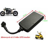 Quality Motorcycle GPS Tracker Real Time Car Tracking System Remote Cut Off Petrol / Electricity for sale