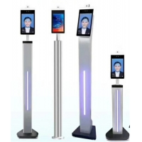 Quality 1280*800 Face Detection Thermal Floor Standing Temperature Scanner for sale