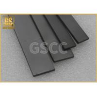 Quality Custom Made Tungsten Carbide Square Bar , Heat Stability Tungsten Flat Bar for sale
