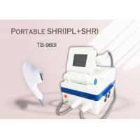 Best Portable Home Use IPL SHR Hair Removal Machine , Age Spots Removal Skin Rejuvenation Machine wholesale