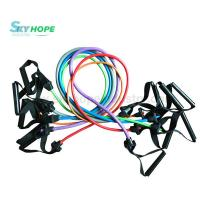 Quality Resistance Band Exercise Tubes With Handle for sale