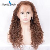 China Silanda Hair #30 Remy Full Lace Human Hair Wigs Water Wave on sale