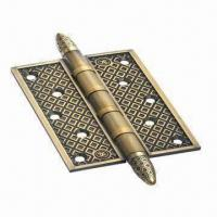 Quality Bearing Brass Hinge with Antique Brass Finish, Made of Copper Material for sale