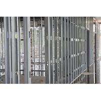 Quality Anti Corrosion Steel Stud Partition , Gypsum Board Channel Good Rust Resistance for sale