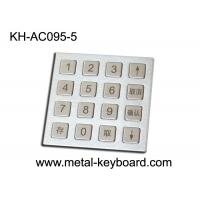 4 X 4 Matrix Door Access Keypad with Rugged Stainless Steel Material