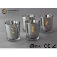 Quality Electroplate Finish Decorated Wine Bottles With Lights Inside WB-009 for sale