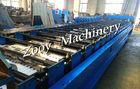 Quality Automatic Metal Floor Deck Cold Roll Forming Machine With 8 - 12 M/Min Forming Speed for sale