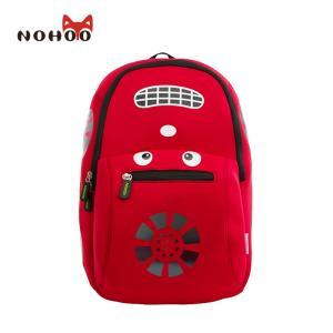 Quality Cool Car 3D Design Kids Toddler Backpack For Travelling 0.3KG for sale