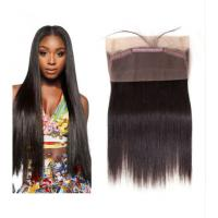 China 360 Lace Frontal Closure 100% Real Human Hair Extensions Straight For Ladys on sale