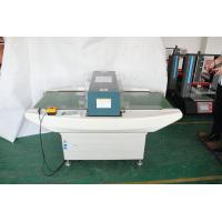 Quality High Sensitivity Conveyor Metal Detector For Food Processing , White for sale