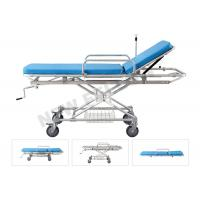 Quality Aluminum Alloy Detachable Hospital Medical Transfer Patient Stretcher Trolley for sale