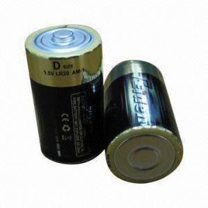 Quality LR20 UM1 Bulk Battery Pack with 1.5V Nominal Voltage and Extra Long Shelf Lifespan for sale