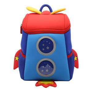 Quality NHB167M Nohoo new arrival lovely rocket 3D neoprene toddler backpack for kids for sale