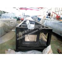 Quality 3.0kw Main Power Driven Gutter Roll Forming Machine 110 volt / 220 volt, 0.3 - 0.7mm Thickness,With Manual Model Cutting for sale
