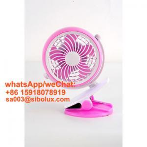 Quality 4 inch electric plastic mini portable USB rechargeable fan desk fan/Ventilador USB/kids gift for sale